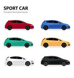sport cartransport vector image