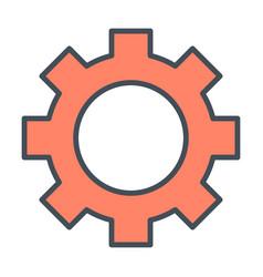 gear wheel icon options preferences symbol vector image