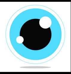 eye vector image