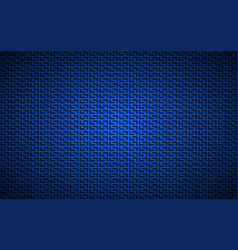 blue geometric perforated background abstract vector image