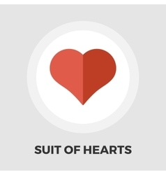 Card suit icon flat vector image