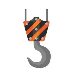 Crane flat icon vector