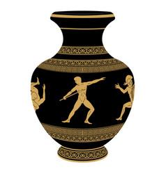 Greek vase vector