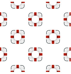 Lifeline pattern flat vector