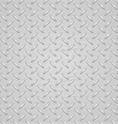 Light metal texture background vector