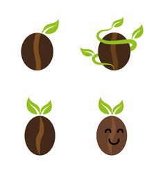 Sproutingcoffeebean vector