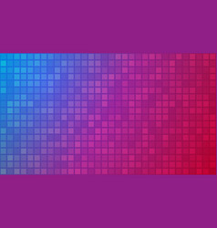 abstract background of small squares vector image