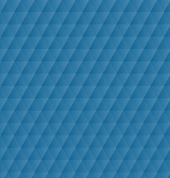 Abstract blue geometric hexagons pattern vector