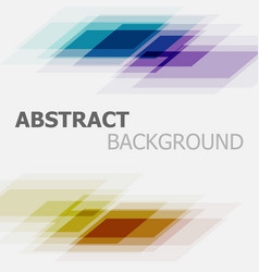 Abstract colorful business straight line vector