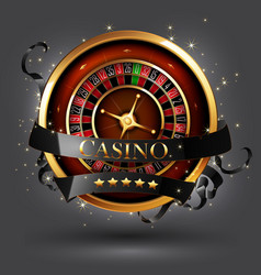 casino advertising design vector image