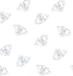Diamond pattern vector image
