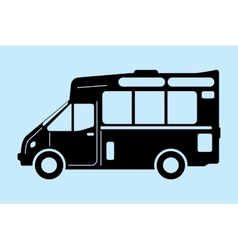 food truck graphic vector image