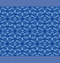Indigo dyed ikat seamless pattern original vector