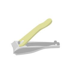 Nail clipper flat design vector