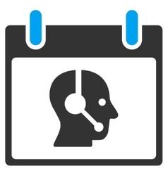 Operator Calendar Day Toolbar Icon vector