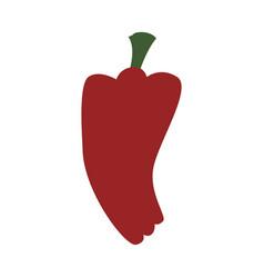 pepper fresh vegetable vector image