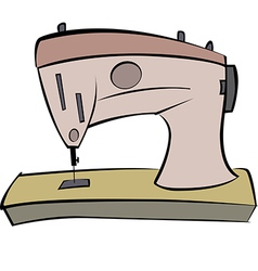 Sewing Machine 01 vector image