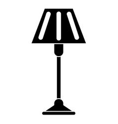 floor lamp decoration pictogram vector image vector image