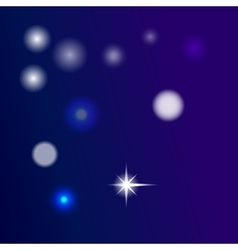 glow blue background vector image vector image