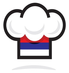 Kapa5 Srbija vector image