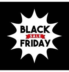 black friday sale commerce vector image