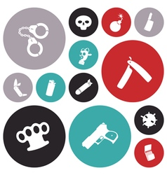 icons for miscellaneous vector image vector image