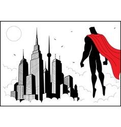 Superhero Watch 4 vector image vector image