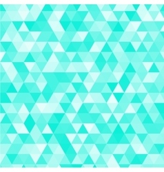 Blue triangles background vector image