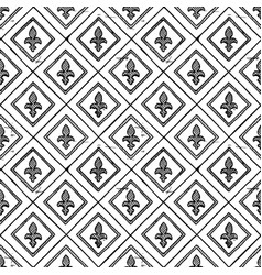 medieval seamless ornament vector image vector image