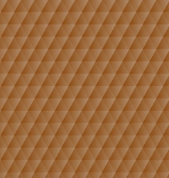 Abstract orange geometric hexagons pattern vector image