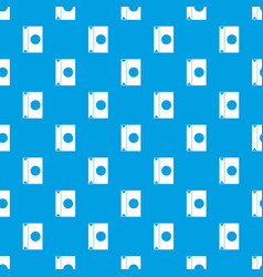 Big package pattern seamless blue vector