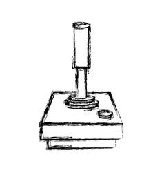 console joystick videogame vector image