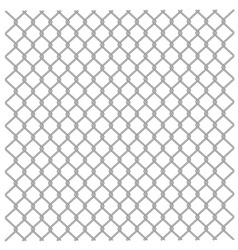 Metallic fence vector