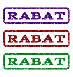 Rabat watermark stamp vector