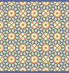 seamless mandala pattern vintage elements in vector image