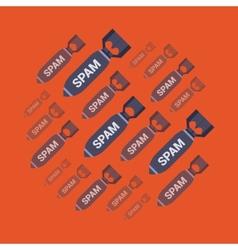 Spam bombs vector