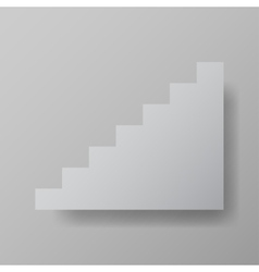 Staircase upstairs vector