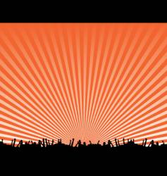 concert background design vector image vector image