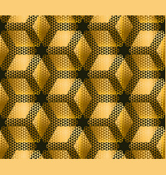elegant modern creative geometry background gold vector image vector image