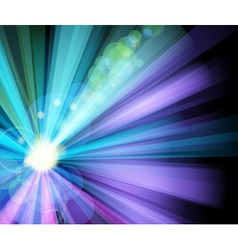 ray light party banner vector image vector image