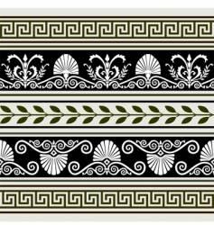 antique borders vector image
