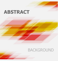 Abstract red and yellow business straight line vector