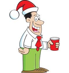 Cartoon Party Guy vector image