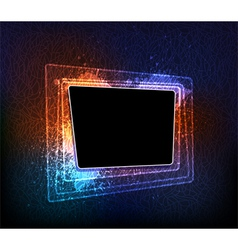 Creative frame vector