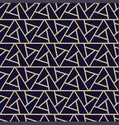 luxury seamless ornamental pattern - geometric vector image