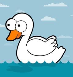 Swan Cartoon vector image