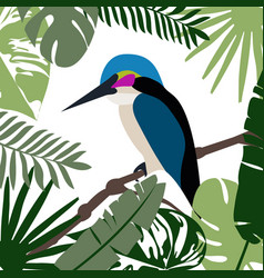 A tropical background vector