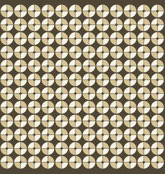 abstract geometric pattern in retro style vector image