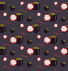 mango seamless repeating pattern flat design vector image