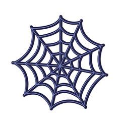 Spiderweb halloween line style icon vector
